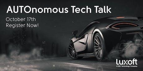 AUTOnomous Tech Talk Ingolstadt Tickets