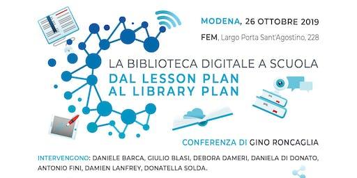 La biblioteca digitale a scuola. Dal lesson plan al library plan