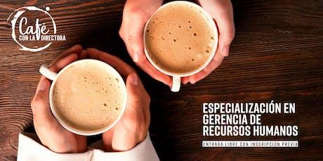 Un café con la directora de la Especialización en Gerencia de Recursos Humanos (14 Oct 2019) entradas