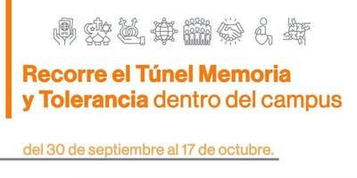 Tour Guiado Túnel Memoria y Tolerancia - 14Octubre 10:00 - 10:45