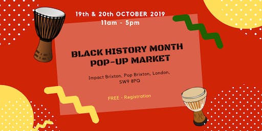 Black History Pop - Up Market