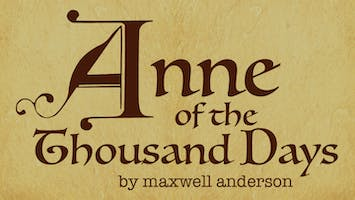 """""""Anne of the Thousand Days"""""""