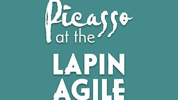 """Picasso at the Lapin Agile"""