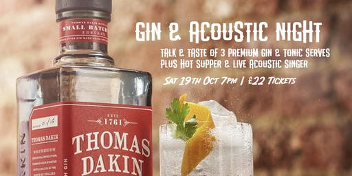 Gin & Acoustic Night