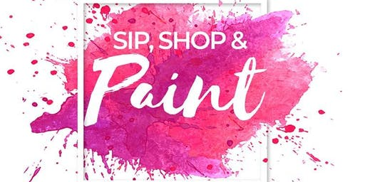 Sip, Shop & Paint