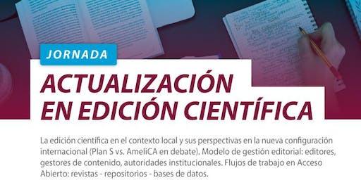 Jornada de Actualización en Edición Científica