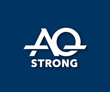 AQ STRONG logo
