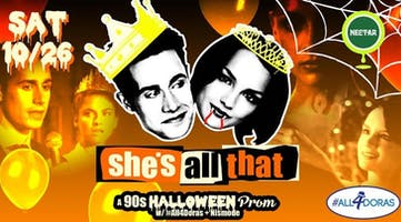 """""""She's All That:"""" A '90s Halloween Prom Party"""