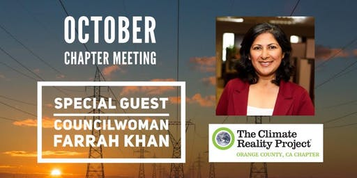 Climate Reality OC October Chapter Meeting