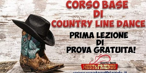 LEZIONE DI PROVA GRATUITA QUARTIERE STADIO (VR) - COUNTRY LINE DANCE