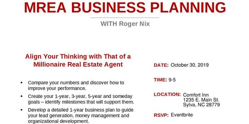 MREA Business Planning Clinic with Roger Nix
