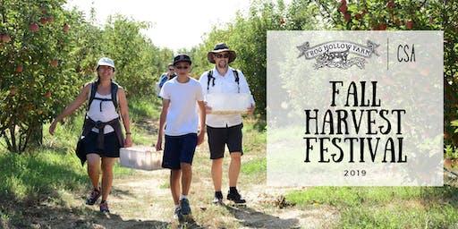 Fall Harvest Festival 2019