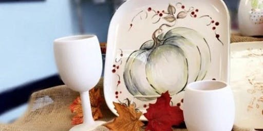 Modern Harvest Platter Sip'n'Paint Class (BYOB)