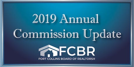 2019 Annual Commission Update - December 16th tickets