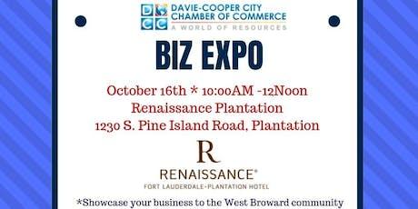 Davie-Cooper City Chamber of Commerce BIZ EXPO tickets