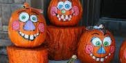 PAINT A PUMPKIN! Child Friendly.