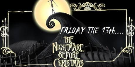 Friday the 13th A Nightmare before Christmas tickets