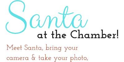 Santa at the Chamber!