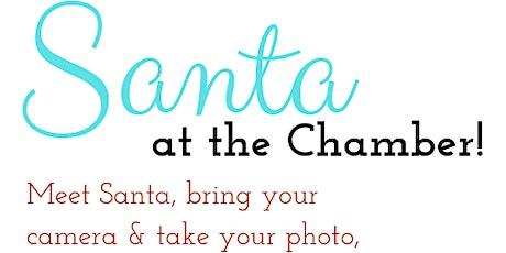 Santa at the Chamber!  tickets