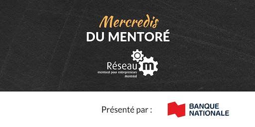 Mercredis du mentoré - 16 octobre 2019 - Comment charger vos batteries pour réussir comme entrepreneur?