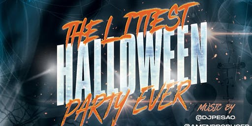 THE LITTEST HALLOWEEN PARTY EVER