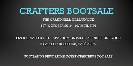 Crafters Bootsale  tickets
