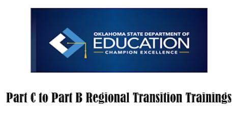 Part C to Part B Regional Transition Training-Region 8 tickets