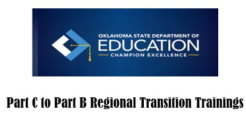 Part C to Part B Regional Transition Training-Region 8