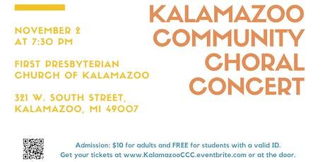 Kalamazoo Community Choral Concert tickets