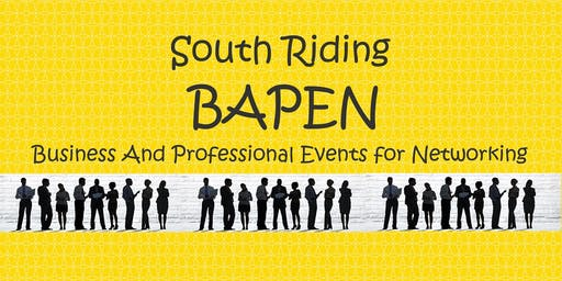 South Riding BAPEN October Networking Event (FREE)