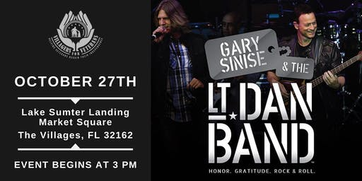 Gary Sinise & The Lt. Dan Band- VIP Seating for Military & First Responders