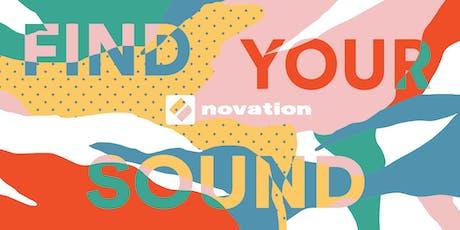 Novation London // Find Your Sound tickets