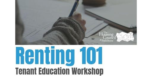 Renting 101 - Tenant Education Workshop