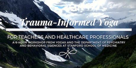 Trauma Informed Yoga tickets