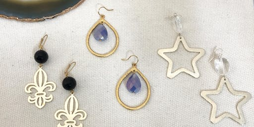 Project Workshop: Holiday Earrings
