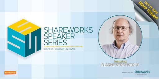 Shareworks by Morgan Stanley Presents: An Evening With Bjarne Stroustrup