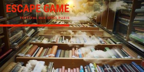 Escape Game : Panique dans la bibliothèque / #Festival des idées Paris billets