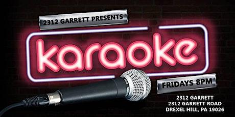 Friday Karaoke at 2312 Garrett (Drexel Hill | Delaware County, PA) tickets
