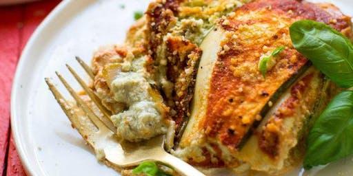 GF Pasta Making Class-Zucchini Lasagna at Soule' Studio