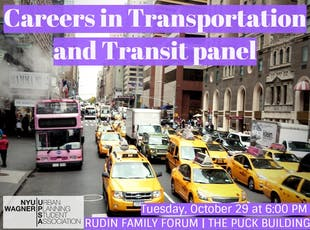 Careers in Transportation and Transit panel tickets