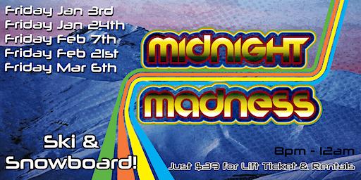 Midnight Madness 2020 at Mt. Crescent Ski Area