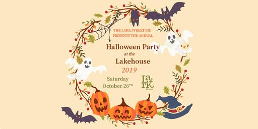 The Lark Street BID's Annual Halloween Party at the Lakehouse
