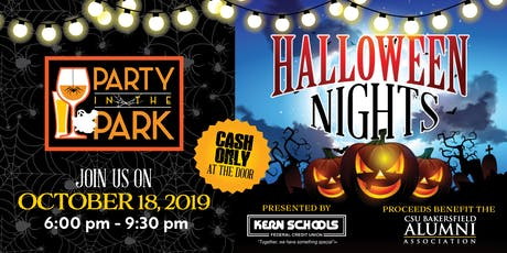 2019 Party in the Park - Halloween Nights  tickets