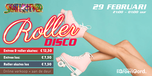 Skatefever RollerDisco bij Het GroenOord.play