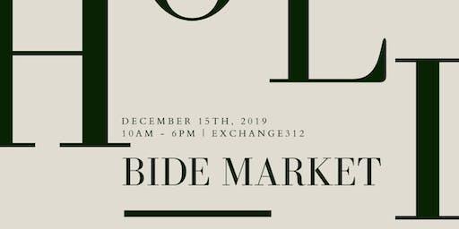 BIDE Holiday Market   Dec 15, 2019 in Chicago