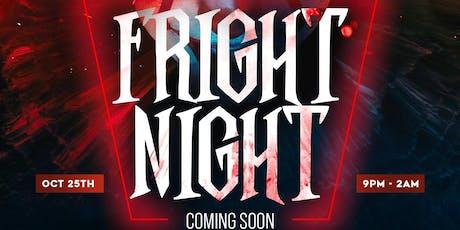 "THE FLAVA TEAM PRESENTS ""FRIGHT NIGHT"" tickets"