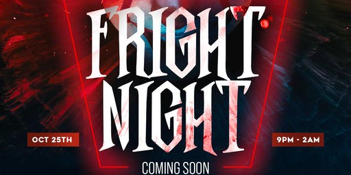 "THE FLAVA TEAM PRESENTS ""FRIGHT NIGHT"""