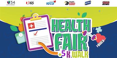 UNIVISION Health Fair +5K Walk with Omar & Argelia