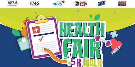 UNIVISION Health Fair +5K Walk with Omar y Argelia tickets