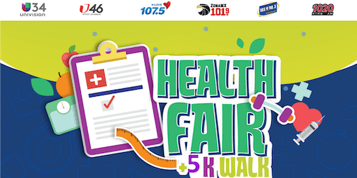 UNIVISION Health Fair +5K Walk with Omar y Argelia